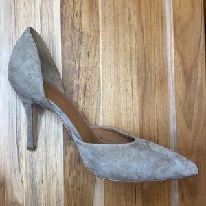 Vince • Suede Celeste d'Orsay Pointed Toe Heel